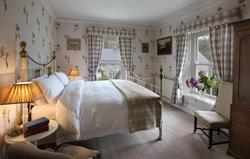 The Tulip bedroom in Llanfendigaid