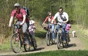 Bring or hire cycles/join routes