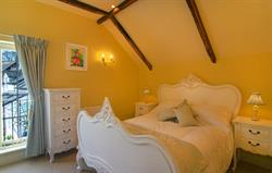 The Hayloft Master bedroom