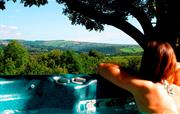 Fantastic views from the hot tub
