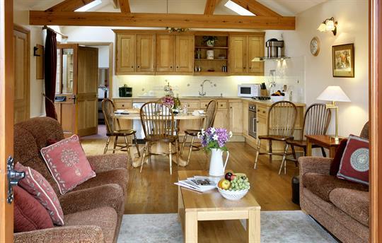 Chestnut Cottage Living room