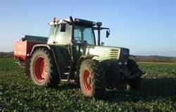 See lots of tractors on our farm