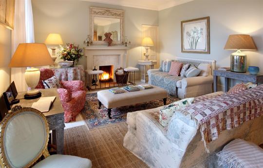 Manor sitting room
