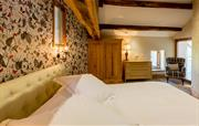 Luxury bedrooms in The Great Barn