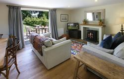The sitting room in the cottage