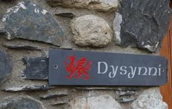 Dysynni Entrance. Welcome
