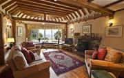 Thatcher's Rest Cottage living room