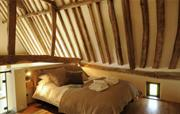 Hoste Barn master bedroom
