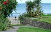 Private gated beach access.
