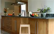 English oak kitchen