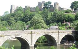 Ludlow Castle and Dinham Bridge