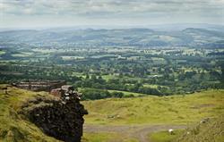 Shropshire's Blue Remembered Hills