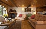The Apple Loft Cottage living room
