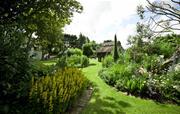 Superb organic flower gardens.