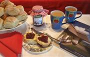 Welcomed with homemade tea & scones