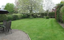 Threshers Garden from utility