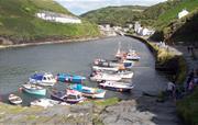 Picturesque Boscastle Harbour