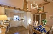 The Hayloft kitchen/dining room