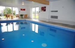 Exclusive use of heated indoor pool