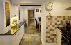 Modern kitchen with Rangemaster