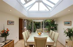 Separate Orangery dining room