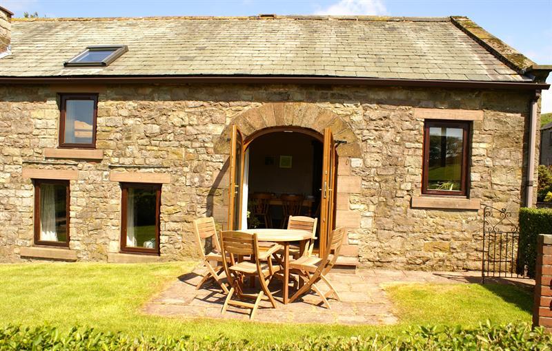 Low Barn from garden