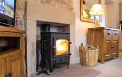 Oak Cottage log burner