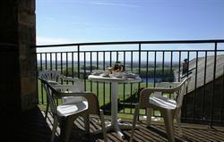 Mill Barn balcony view