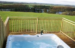 Garth Cottage hot tub