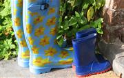Wellie fun, whatever the weather!