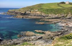 The coastal path to Dodman Point