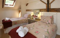 The Granary twin bedded room