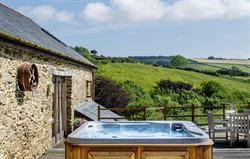 The Old Barn's Private Hot Tub