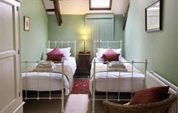 A Twin Bedroom in the Old Farmhouse