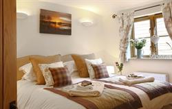 Bedroom in Lavender Barn