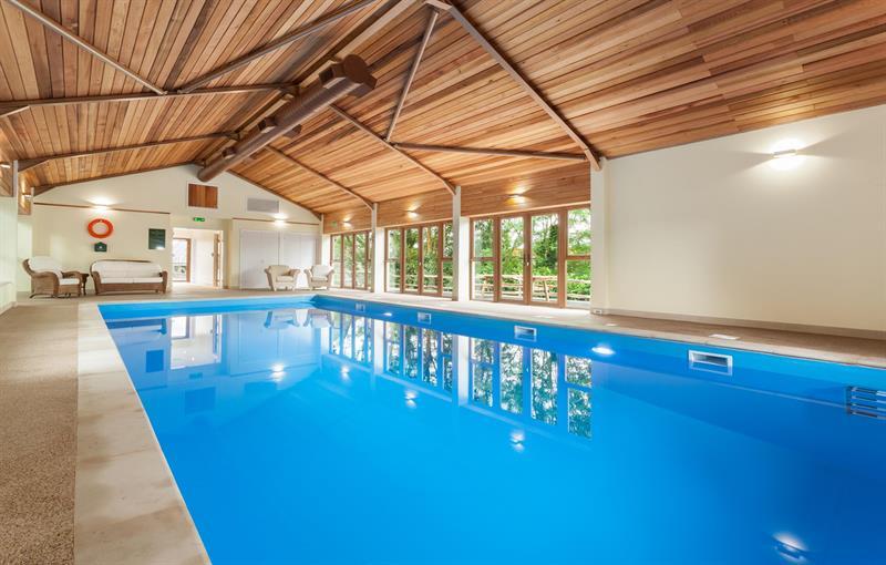 13m indoor pool and sauna