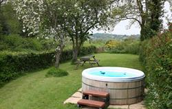 Hot Tub at Railway Cottage 2