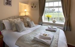 Bedroom at Railway Cottage
