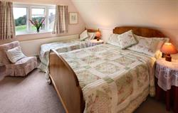 Fishers Cottage main bedroom