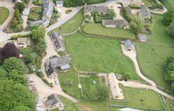 Aerial view of Park Farm