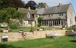The farm house and garden