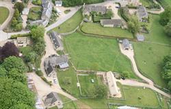 Aerial view of Park Farm