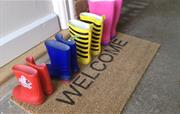 Welcome wellies