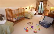 Twin bedroom for children