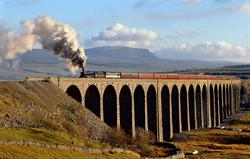 Steaming over Ribblehead Viaduct