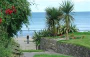 Private gated beach access