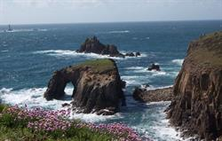 Short distance from Land's End