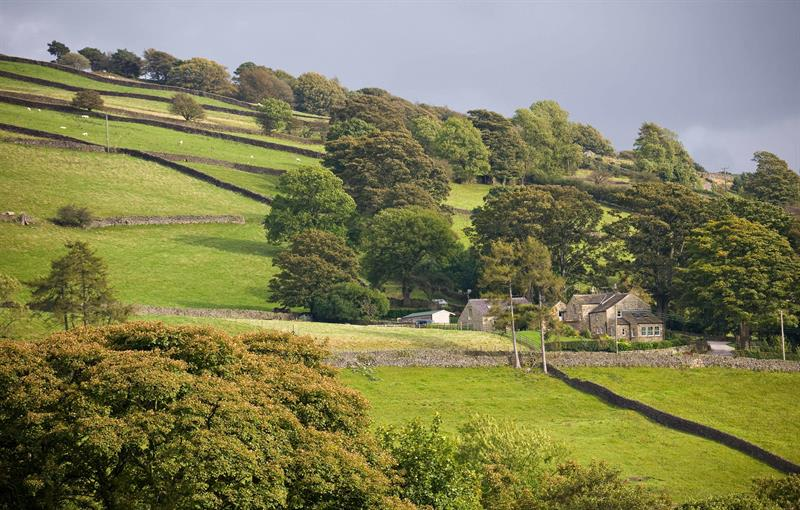 High Green Farm from Nidderdale Way