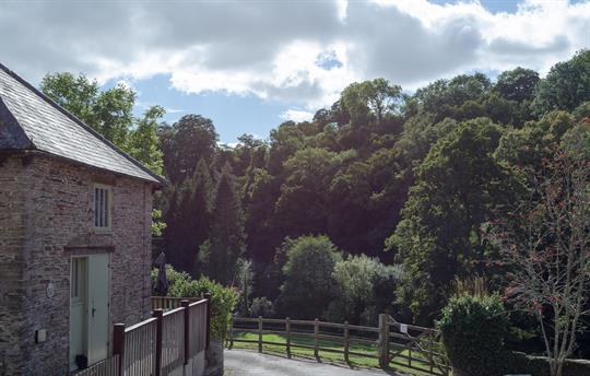The Dairy Exterior and Flear Valley