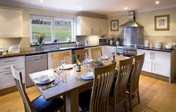 A farmhouse kitchen.